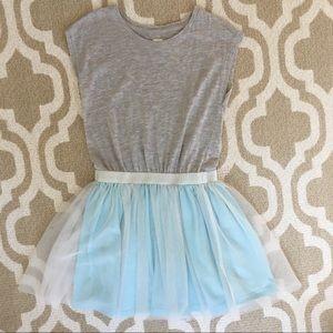 ✴️4/$15 GAP jersey & tulle dress medium size 8